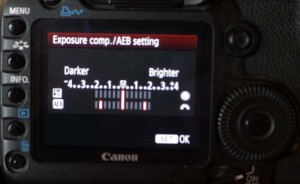 Use the Bracketing function in your camera.